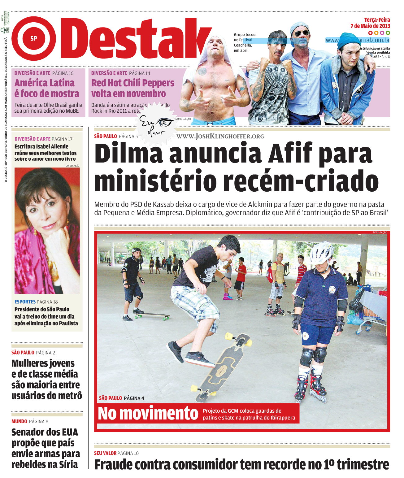 Destak – May, 2013 (Brazil)