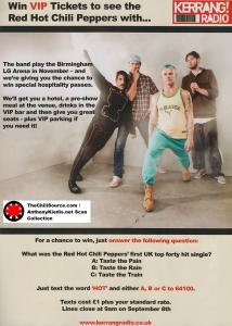 kerrang-RHCP-Birmingham-competition