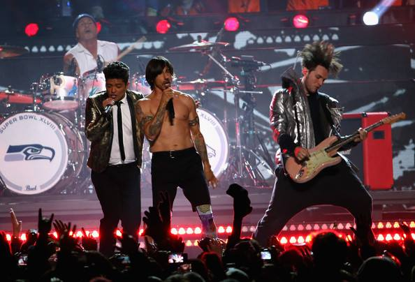 RHCP and Bruno Mars – Halftime – Super Bowl XLVI