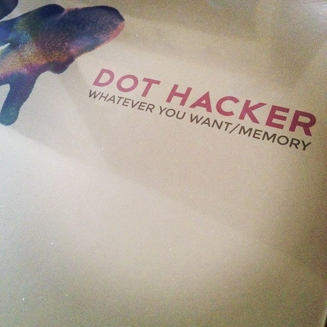 "Dot Hacker's new song ""Whatever You Want"""