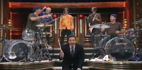 RHCP on The Tonight Show Starring Jimmy Fallon