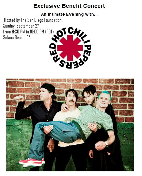 Red Hot Chili Peppers Will Play The Belly Up