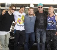 RHCP on The Late Late Show for a 'Carpool Karaoke'