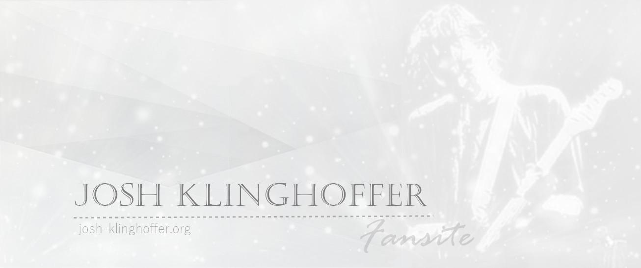Josh Klinghoffer Fansite